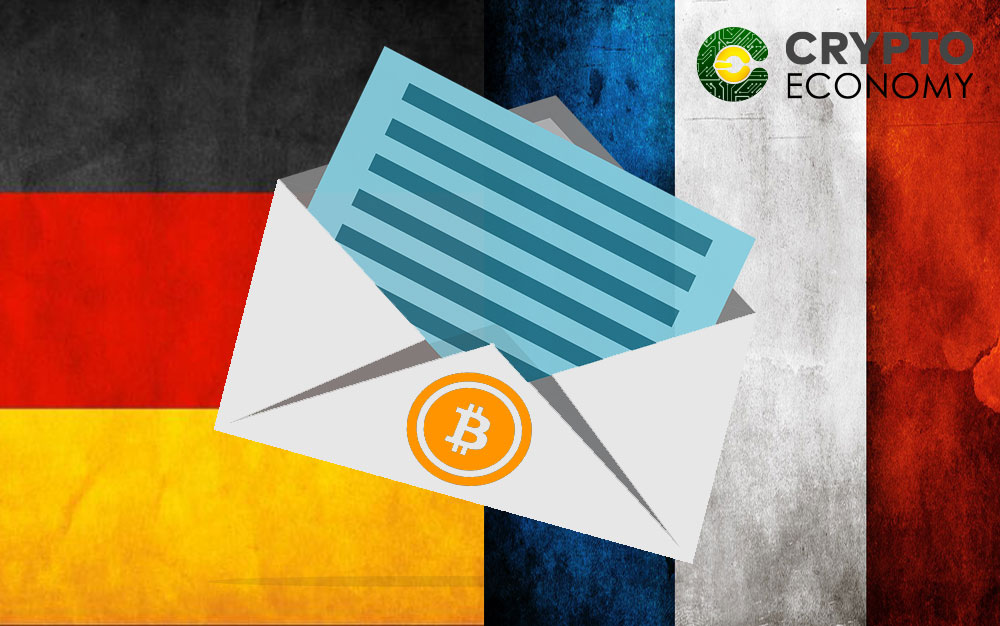Letter from France and Germany about Bitcoin