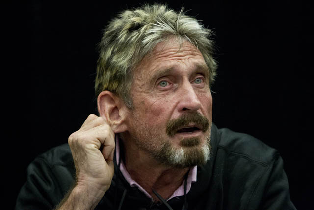 McAfee prediction bitcoin