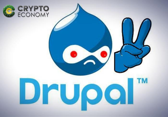 drupal y cryptojacking