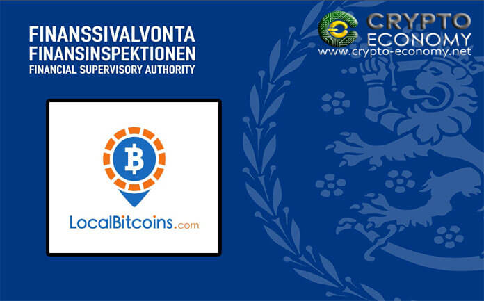 El intercambio de Bitcoin [BTC] Peer to Peer LocalBitcoins estará bajo la supervisión del regulador financiero finlandés