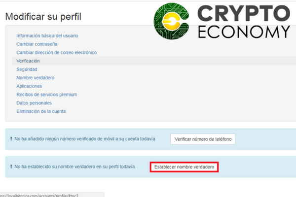 localbitcoins review verificar nombre