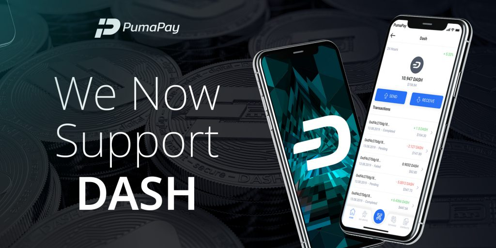 PumaPay Dash integration