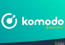 binance komodo kmd