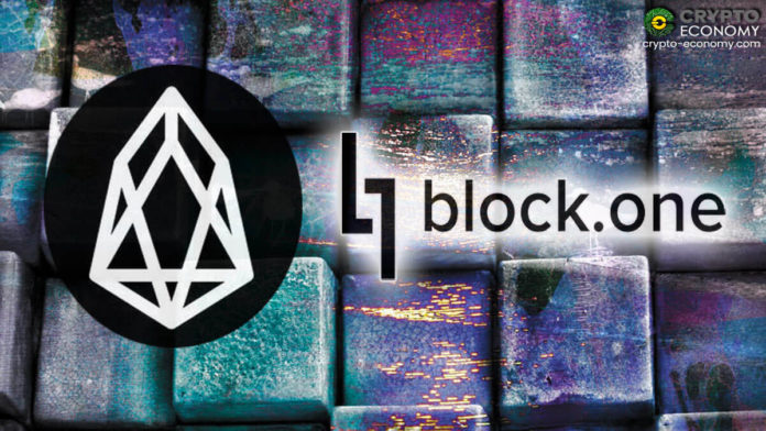 blockchain block one eos