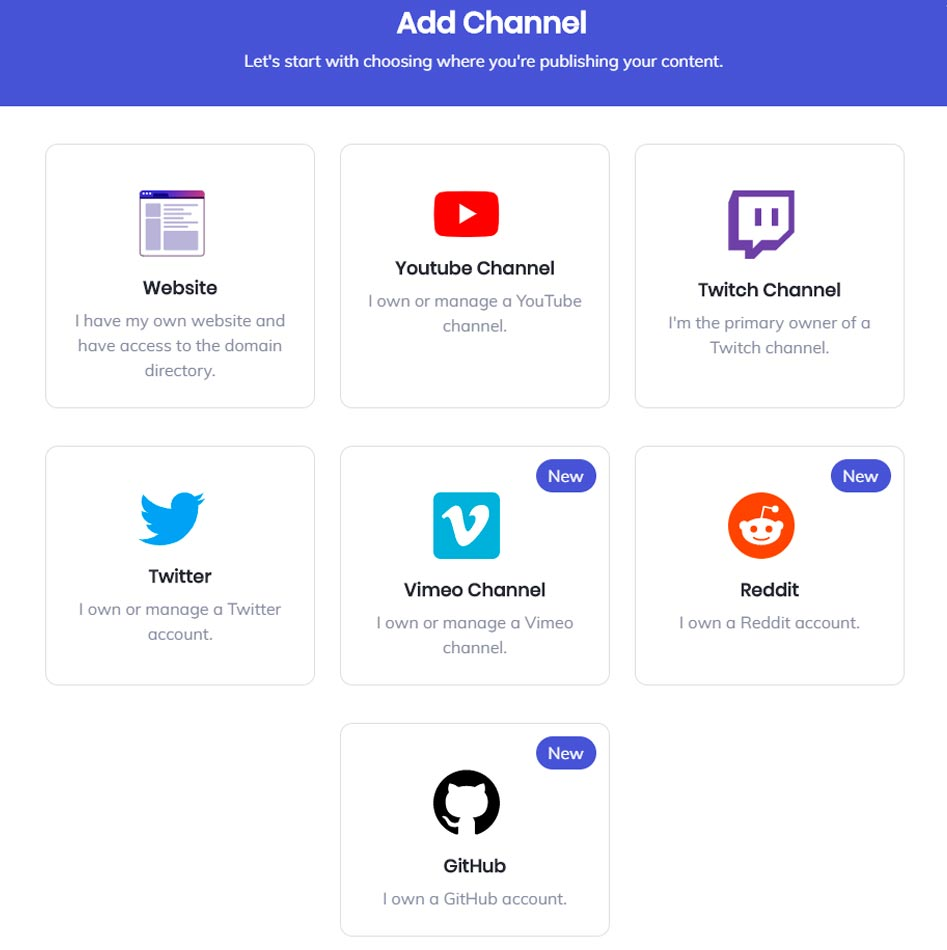 add channel bat publishers