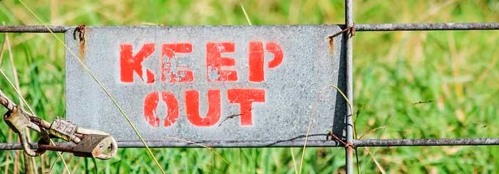 keep-out